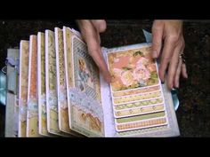 ▶ Graphic 45 Mini Albums, Little Darlings and ABC Primer - YouTube