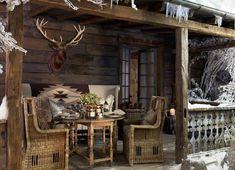 Ralph Lauren alpine lodge