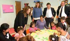 Vidal recorrió un centro de primera infancia en San Miguel