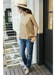 plage代官山店 | YOCCHIさんのシャツ/ブラウス「plage 《追加2予約》RUDLFストレッチブラウス。」を使ったコーディネート