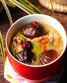 Chinese Halal Food - Chicken and Black Mushroom Stew