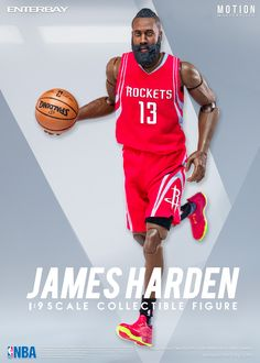1 9 Motion Master Pieces James Harden by ENTERBAY Official which invites  you to experience 9a735f9ec