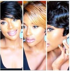 Short Wigs Are A Perfect Protective Style For Summer  Read the article here - http://www.blackhairinformation.com/general-articles/hairstyles-general-articles/short-hair-wigs-are-a-perfect-protective-style-for-summer/