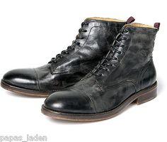 Timberland Winter Stiefel Boots Leder Herren Schwarz Winterschuhe Helcor