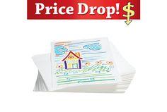 500 Sheets Orange 9 x 12 Beckers School Supplies Bulk Construction Paper