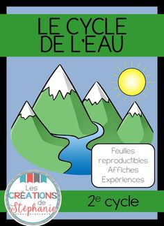 Les créations de Stéphanie: Le cycle de l'eau - Tap the link to shop on our official online store! You can also join our affiliate and/or rewards programs for FRE Science Projects For Kids, Science Kits, Science Experiments Kids, Science Activities, Science And Technology, Team Teaching, Teaching Science, Le Cycle De Leau, Teacher Comments