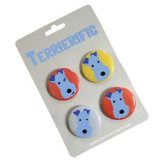 Fox Terrier Badges - product image