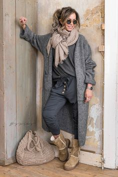 Look Casual Otoño, Comfy Casual, Casual Fall Outfits, Winter Fashion Outfits, Casual Street Style, Fall Winter Outfits, Autumn Winter Fashion, Comfy Outfit, Pants Outfit