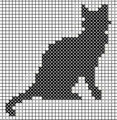 Katter pinned from brodera. Cat Cross Stitches, Halloween Cross Stitches, Cross Stitch Charts, Cross Stitch Designs, Cross Stitch Embroidery, Cross Stitch Patterns, Crochet Patterns Filet, Knitting Paterns, Knitting Charts