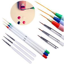 6X Tiny Fine Liner Acrylic Design Decoration Pen Brush Painting Drawing Nail Art