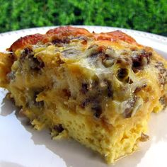Bubble Up Breakfast Casserole...I served this at a baby shower/brunch and it was a big hit!!