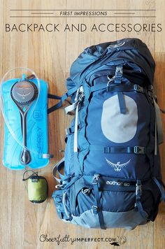 First Impressions of: Osprey Aether pack, Osprey  Hydraulics™ 3 Liter Reservoir, and Sea to Summit rain cover.