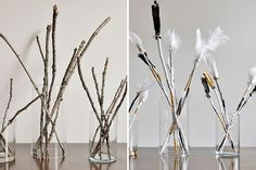 Chic DIY Books and Arrows Table Centerpiece