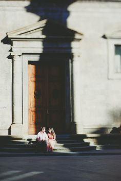 Katie and Rob Engaged in Florence