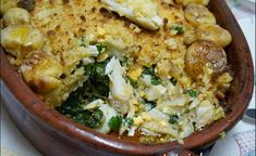 Fish Recipes, Cake Recipes, Cod Fish, Portuguese Recipes, Portuguese Food, Spanish Food, Fish Dishes, Fish And Seafood, Family Meals