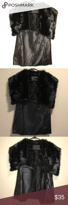 Black vest Very soft and warm inside i jeans by Buffalo Jackets & Coats Vests