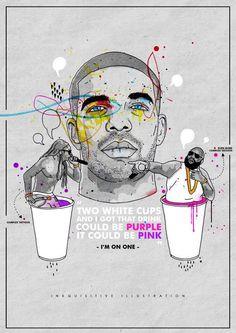Drake I'm On One Inkquisitive illustrations