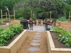 above ground garden box - Google Search