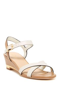 Melrose Low Wedge Sandal - Wide Width Available by Cole Haan on @nordstrom_rack