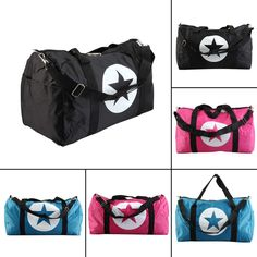 78030d022aa2 2016 New Large Five Pointed Star Nylon Material Waterproof Travel Bag Gym  Bag Large Capacity Women And Men Bags-in Climbing Bags from Sports    Entertainment ...