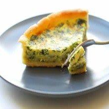 Eggland's Best Eggs - Ricotta Spinach Quiche
