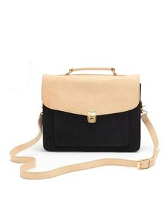 Name: JEANNE Genuine leather and soft suede vintage briefcase. Top handle and removable /adjustable leather strap. Lined interior features zip pocket with LAURA VELA logo placket Daniel Wellington Watch, My Bags, Purses And Bags, Cute Bags, Fashion Lookbook, Soft Suede, Briefcase, Fashion Bags, Purses