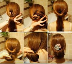 Easy fast and chicky hairstyle!