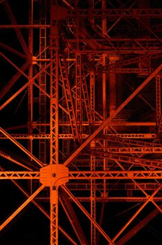 Unrefined, edgy and industrial. for the Fall 2016 collection. Industrial Photography, Art Photography, Art And Architecture, Architecture Details, Ing Civil, Tokyo Tower, Steel Structure, Flyer, Art Design