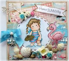 Cards made by Chantal: Have a SUNNY day!