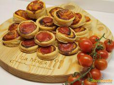 Pizzette di sfoglia  #ricette #food #recipes