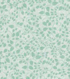 Keepsake Calico™ Cotton Fabric-Vines Allover Light Green $7.49/yd