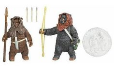 Star Wars Basic Figure Ewok 2Pack Romba  Graak -- You can get additional details at the image link.