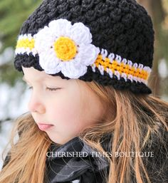 Awesome Steelers crocheted hat! @ Cathy Vancour. Matching ones for Mommy and Abby please!