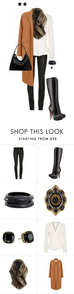 """""""Dez"""" by ccoss ❤ liked on Polyvore featuring ElleSD, Christian Louboutin, ZENZii, Gucci, Tory Burch, Elizabeth and James, The 2nd Skin Co. and Michael Kors"""