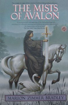 Cover of Mists of Avalon. Art by Braldt Bralds. One of my favorite books of all time, nothing else that I've read by her came close to the majesty of this particular book (to me anyway).