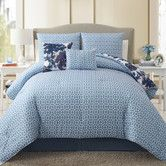 Found it at Wayfair - Starling 5 Piece Reversible Comforter Set