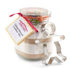 gingerbread jar gift - might be ideal for teacher gifts.