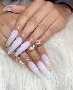 milky white nails acrylic / milky acrylic nails milky acrylic nails coffin milky acrylic nails almond milky acrylic nails glitter milky acrylic nails short milky acrylic nails with flowers milky white nails acrylic milky white nails acrylic coffin White Acrylic Nails, Best Acrylic Nails, Summer Acrylic Nails, Clear Acrylic, White Acrylics, Spring Nails, Ballerina Acrylic Nails, Marble Nails, Summer Nails