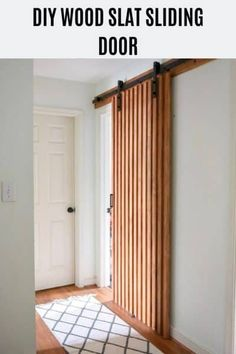 Custom Built: Sliding Barn Door, Hinge, Pocket Door, X design Wood Slat Wall, Wood Barn Door, Diy Barn Door, Wood Slat Ceiling, Barn Garage, Diy Sliding Door, Modern Sliding Doors, Modern Barn Doors, Barn Style Sliding Doors
