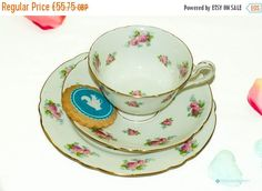 Your place to buy and sell all things handmade Tea Sets, Vintage Tea, Teacup, China, Unique Jewelry, Tableware, Handmade Gifts, Etsy, Kid Craft Gifts
