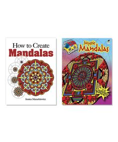 Look at this How to Create Mystic Mandalas & 3-D Coloring Book Set on #zulily today!