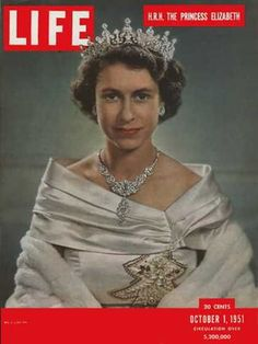 Queen Elizabeth II - Life Magazine  She was so pretty when she was younger.