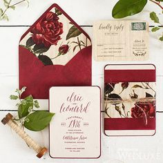 WedLuxe – Pantone Color of the Year 2015 – Marsala | Photography By: Visual Cravings Follow @WedLuxe for more wedding inspiration!