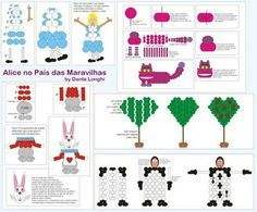 ★ GBAlmanac ★ It's ALL about BALLOONS!: Alice no País das Maravilhas com Balões Mais