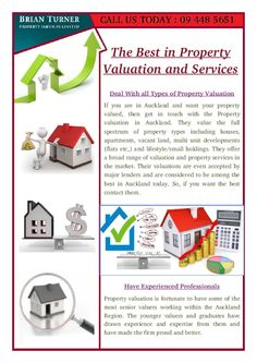 Now make up your mind quickly and contact them for your property valuation Auckland or any other service and get the best returns.