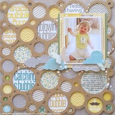 Best Day Ever--uses Jilibean Soup's die cut placemat