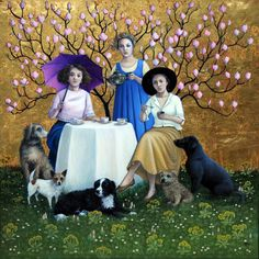 Circle of Friends  - Marcelle Milo Gray