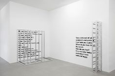 "contemporaryartdaily: "" Liam Gillick at Esther Schipper """