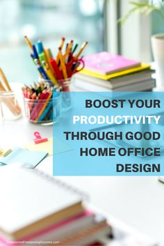 Boost your productivity at home with these awesome home office design concepts! See more at www.outsourcedfreelancingsuccess.com