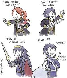 shinyv:  the first time i got lucina's final smash, i misheard it as 'time to tip the scales' and that made me happy tip all the scales  Now with an official track (trust me play it)
